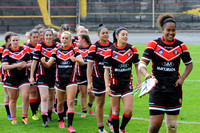 Womans Rugby League Cup Final Day, Odsal, Bradford. 31st July 2016011