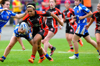 Womans Rugby League Cup Final Day, Odsal, Bradford. 31st July 2016020