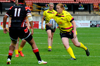 Womans Rugby League Cup Final Day, Odsal, Bradford. 31st July 2016008