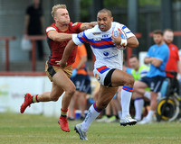 7-7-18 Wakefield Trinity vs Catalan Dragons