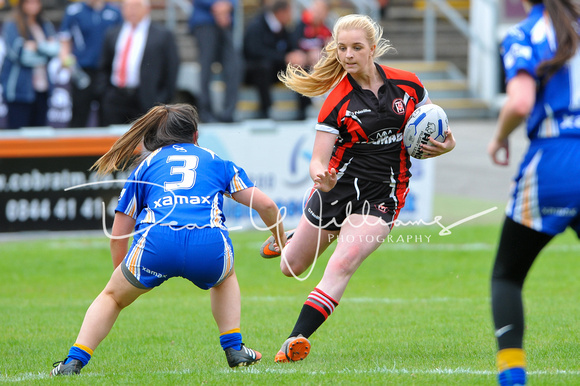 Womans Rugby League Cup Final Day, Odsal, Bradford. 31st July 2016015