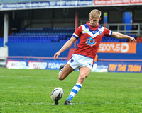 30-4-2017 001 u19's Wakefield Trinity vs Catalan Dragons